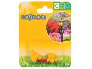 Hozelock HOZ2795 - Adjustable Micro Jet 360 Degree 4mm/13mm (2 Pack)