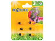 Hozelock HOZ2797 - Mist Micro Jet 4mm/13mm (6 Pack)