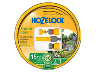 Hozelock HOZ72159000 - Starter Hose Starter Set 15 Metre 12.5mm (1/2in) Diameter