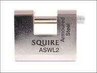 Henry Squire HSQASWL2KA - ASWL2KA Steel Armoured Warehouse Padlock 80mm Keyed Alike