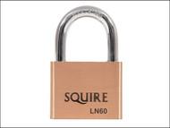 Henry Squire HSQLN60 - LN60 Lion Range Brass Padlock 60mm