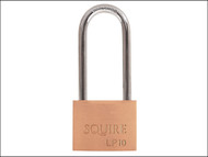 Henry Squire HSQLP1025 - LP10/2.5 Leopard Brass Padlock 65mm Long Shackle