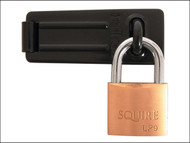 Henry Squire HSQLP9SH1 - LP9/SH1 Leopard LP9 Padlock 40mm with SH1 Hasp & Staple