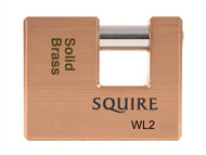 Henry Squire HSQWL2 - WL2 Solid Brass Warehouse Padlocks 70mm