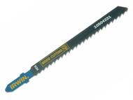 IRWIN IRW10504221 - Jigsaw Blades Wood Cutting Pack of 5 T111C
