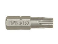 IRWIN IRW10504356 - Screwdriver Bits Torx T30 x 25mm Pack of 10