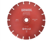 IRWIN IRW10505929 - Segmented Diamond Disc 115mm x 22.2mm