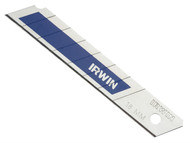 IRWIN IRW10507102 - Snap-Off Blades 18mm Blue Pack of 5