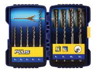 IRWIN IRW10507111 - Speedhammer Plus Drill Bit Set 9 Piece 5.5-10mm