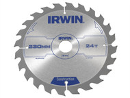 IRWIN IRW1897205 - Circular Saw Blade 230 x 30mm x 24T ATB