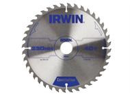 IRWIN IRW1897206 - Circular Saw Blade 230 x 30mm x 40T ATB