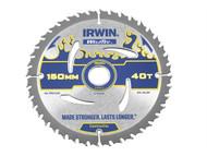 IRWIN IRW1897350 - Weldtec Circular Saw Blade 150 x 20mm x 40T ATB