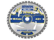 IRWIN IRW1897381 - Weldtec Circular Saw Blade 184 x 16mm x 40T ATB