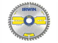 IRWIN IRW1897437 - Multi Material Circular Saw Blade 160 x 20mm x 48T TCG/Neg
