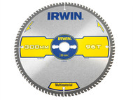 IRWIN IRW1897446 - Multi Material Circular Saw Blade 300 x 30mm x 96T TCG/Neg