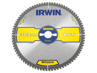 IRWIN IRW1897447 - Multi Material Circular Saw Blade 305 x 30mm x 84T TCG/Neg