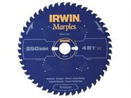 IRWIN IRW1897456 - Marples Circular Saw Blade 250 x 30mm x 48T ATB/Neg M
