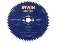 IRWIN IRW1897461 - Marples Circular Saw Blade 254 x 30mm x 80T ATB/Neg M