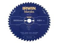 IRWIN IRW1897465 - Marples Circular Saw Blade 305 x 30mm x 48T ATB/Neg M