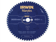 IRWIN IRW1897466 - Marples Circular Saw Blade 305 x 30mm x 60T ATB/Neg M