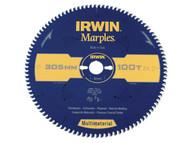 IRWIN IRW1897473 - Marples Circular Saw Blade 305 x 30mm x 100T TCG/Neg