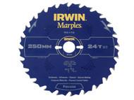 IRWIN IRW1897474 - Marples Circular Saw Blade 250 x 30mm x 24T ATB