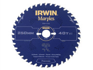 IRWIN IRW1897475 - Marples Circular Saw Blade 250 x 30mm x 40T ATB