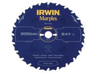 IRWIN IRW1897478 - Marples Circular Saw Blade 300 x 30mm x 24T ATB