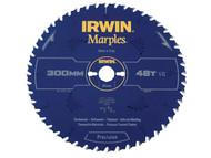 IRWIN IRW1897479 - Marples Circular Saw Blade 300 x 30mm x 48T ATB