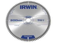 IRWIN IRW1907781 - Professional Circular Saw Blade 300 x 30mm x 96T - Aluminium