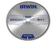 IRWIN IRW1907782 - Professional Circular Saw Blade 350 x 30mm x 84T - Aluminium