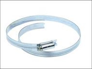 Jubilee JUB85 - 8.1/2in Zinc Protected Hose Clip 184 - 216mm (7.1/4 - 8.1/2in)