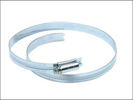 Jubilee JUB95 - 9.1/2in Zinc Protected Hose Clip 210 - 242mm (8.1/4 - 9.1/2in)