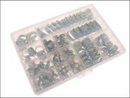 Jubilee JUBHCP - Workshop Pack 143 Assorted Hose Clips (Mild Steel)