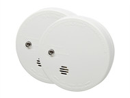 Kidde KID9040TLSB - Ionisation Smoke Alarm With Test Twin Pack