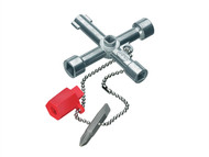 Knipex KPX001103 - Standard Control Cabinet Key - 7 way Cabinet