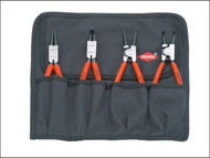 Knipex KPX001956 - Circlip Pliers Set in Roll (4)