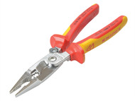 Knipex KPX1396200 - Electrical Installation Pliers VDE Certified Sprung 200mm