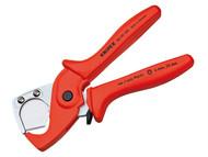 Knipex KPX9020185 - Plastic Conduit Pipe / Hose Cutter 25mm Diameter