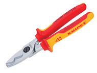 Knipex KPX9516200 - Cable Shears VDE Certified Grip 200mm