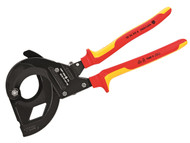 Knipex KPX9536315 - VDE Cable Cutter For SWA Cable 45mm Capacity 315mm