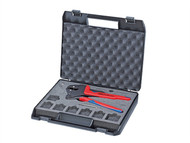 Knipex KPX9743200 - Crimp System Pliers 200mm In Case