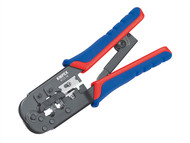 Knipex KPX975110 - Crimping Pliers for RJ11/12 RJ45 Western Plugs