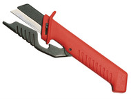 Knipex KPX9856 - Cable Knife With Hinged Blade Guard