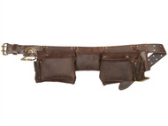 Kuny's KUN19427 - 19427 Oil Leather Construction Apron 12 Pocket