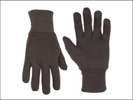 Kuny's KUN2008 - Brown Jersey Stretch Gloves (One Size)