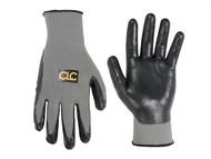 Kuny's KUN2033L - Nitrile Gripper Work Glove - Large (Size 10)