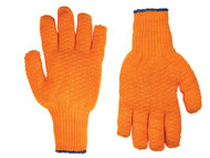 Kuny's KUN2035 - PVC Coated String Knit Gloves Large (Size 10)