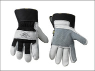 Kuny's KUN2050 - Double Leather Palm Rigger Gloves Large (Size 10)