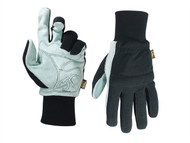 Kuny's KUN260M - Hybrid-260 Suede Palm Knit Wrist Glove - Medium (Size 9)